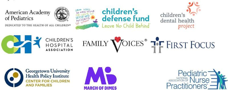 Logos of the nine organizations joining this statement